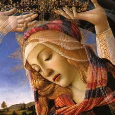 Madonna of the Magnificat_Sandro Botticelli_1481