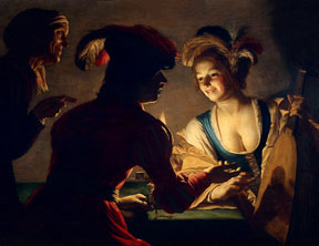 Gerrit von Honthorst_The Matchmaker_1625