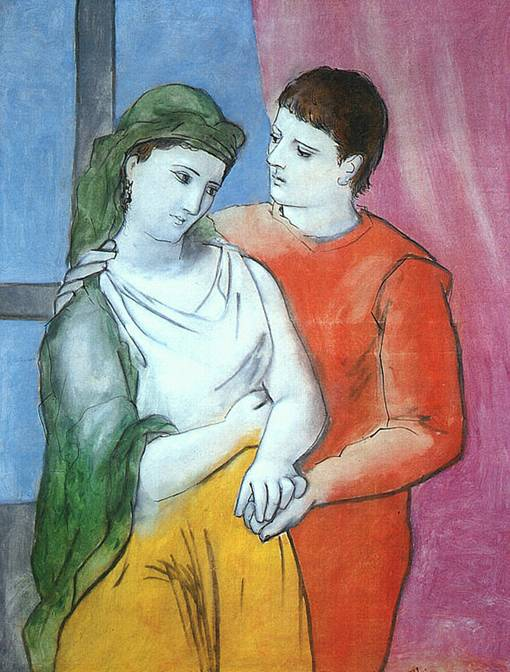 Picasso_Les Amoureux 1923_National Gallery